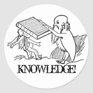 KNOWLEDGE! Sticker
