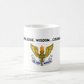 Knowledge, Wisdom...Courage Mug