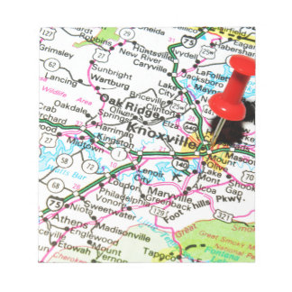 Knoxville, Tennessee Notepad
