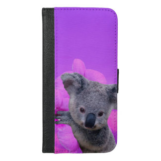 Koala and Orchids iPhone 6/6s Plus Wallet Case