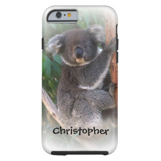 Koala Bear Just Add Name Tough iPhone 6 Case