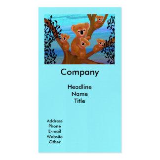 Koala Habitat Business Card Template