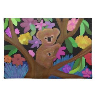 Koala Habitat Custom Placemats