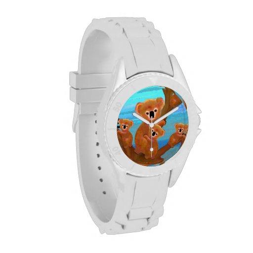Koala Habitat Wrist Watch