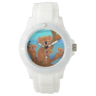 Koala Habitat Wrist Watches