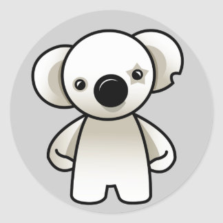 Koala Round Sticker