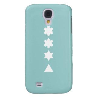 Koch Snowflakes Galaxy S4 Case