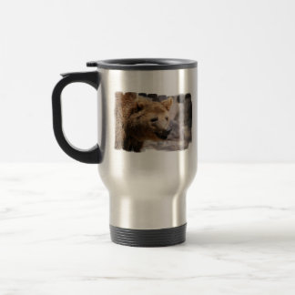 Kodiak Bear Stainless Travel Mug