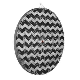 Kohl Black Chevron Pattern Dartboards