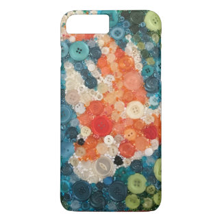 Koi Button Collage iPhone 8 Plus/7 Plus Case