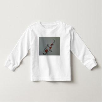 Koi Fish on Toddler Shirt