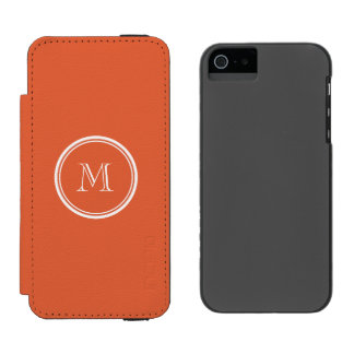 Koi High End Colored Personalized Incipio Watson™ iPhone 5 Wallet Case