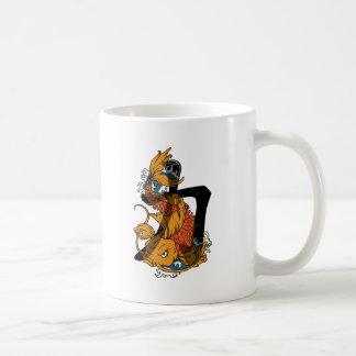 Koi Strength Basic White Mug