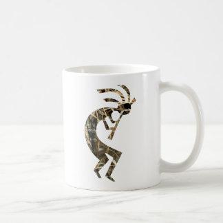 Kokopelli camo png coffee mug
