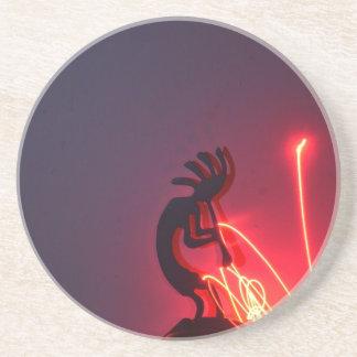 Kokopelli Generates Light Energy! Coaster