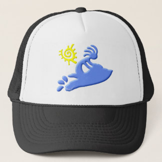 Kokopelli Jet Ski Trucker Hat