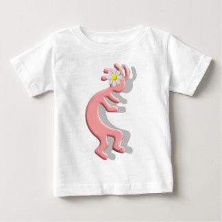 Kokopelli Native American Daisy Flower Girl Baby T-Shirt