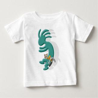 Kokopelli Native American Handyman Baby T-Shirt