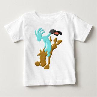 Kokopelli Native American Rodeo Baby T-Shirt