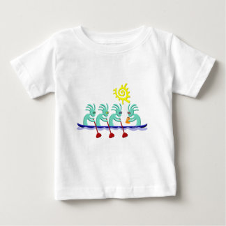 Kokopelli Rowing Baby T-Shirt