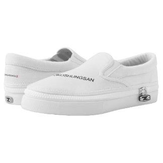 Kokoshungsan Zipz Slip On Shoes Printed Shoes