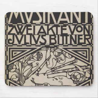 Koloman Moser- Envelope for the score to the opera Mouse Pads