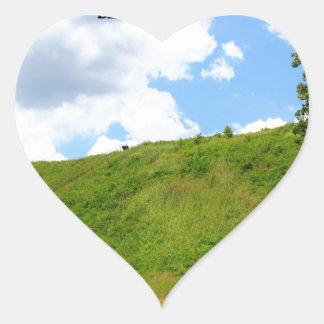 KOLOMOKI MOUNDS - Blakely, Georgia Heart Sticker