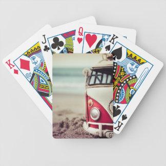 kombi bicycle playing cards