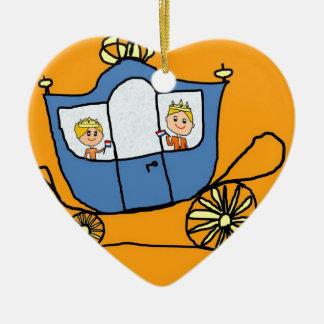 Koninginnedag 2013 ceramic heart decoration