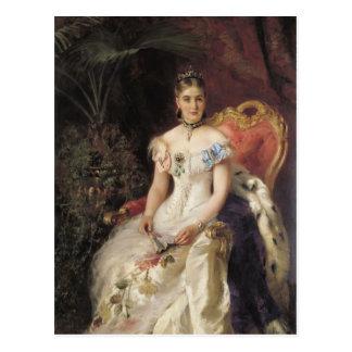 Konstantin Makovsky- Portrait of Countess Maria Postcard