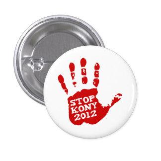 Kony 2012 Handprint Stop Joseph Kony 3 Cm Round Badge