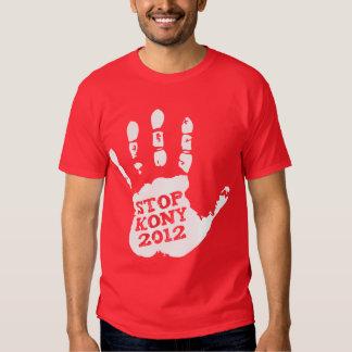 Kony 2012 Handprint Stop Joseph Kony T-shirts