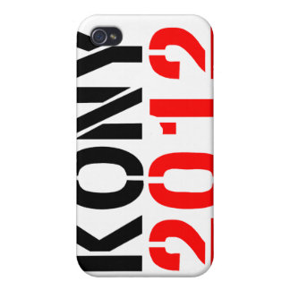 KONY 2012 i iPhone 4 Cover