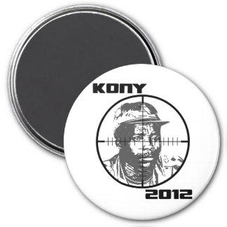 Kony 2012 Joseph Kony Target Crosshairs 7.5 Cm Round Magnet