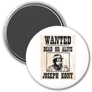 Kony 2012 Joseph Kony Wanted Poster 7.5 Cm Round Magnet