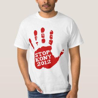 Kony 2012 Red Handprint Stop Joseph Kony T-shirts