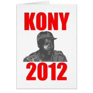 Kony 2012 Stop Joseph Kony Greeting Card