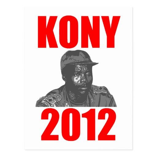 Kony 2012 Stop Joseph Kony Post Cards