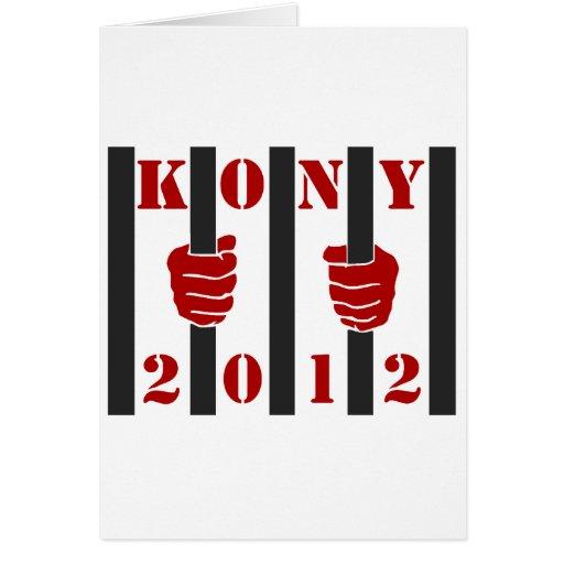 Kony 2012 Stop Joseph Kony Prison Cards
