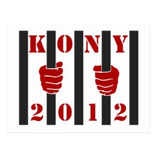 Kony 2012 Stop Joseph Kony Prison Post Cards