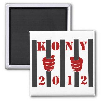 Kony 2012 Stop Joseph Kony Prison Square Magnet