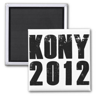 Kony 2012 Stop Joseph Kony Square Magnet