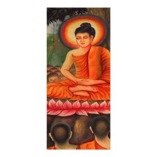KOOLshades BUDDHA with Pupils LOTUS Seat Rack Cards