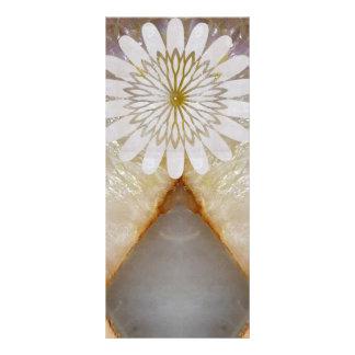 KOOLshades HealingSTONE WHITE Marble Full Colour Rack Card
