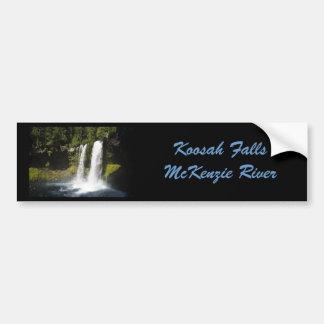 Koosah Falls Car Bumper Sticker