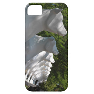 Kopps Large White Cows in a Row Wisconsin iPhone 5 Cover