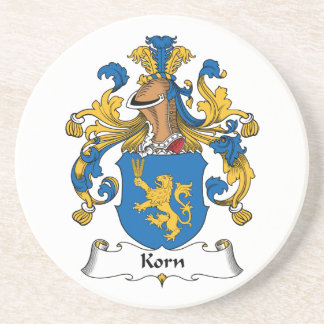 Korn Family Crest Coasters