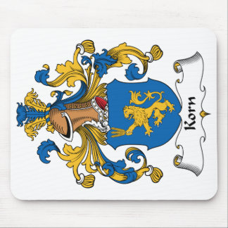 Korn Family Crest Mouse Pad