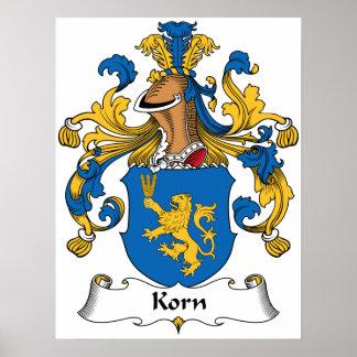 Korn Family Crest Print