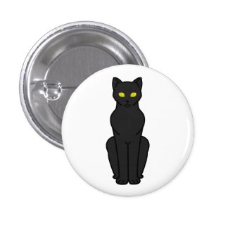 Korn Ja Cat Cartoon 3 Cm Round Badge